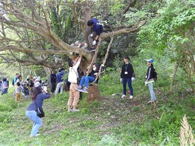 180429DSCN0312 - 4月29日(日)「山田の森の村づくり」